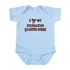 """Foundation Quarter Horse"" Onesie"