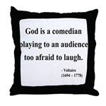 Voltaire 6 Throw Pillow