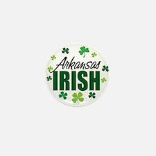 Arkansas Irish Mini Button