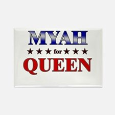 MYAH for queen Rectangle Magnet
