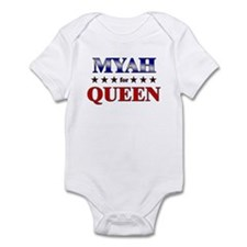 MYAH for queen Infant Bodysuit