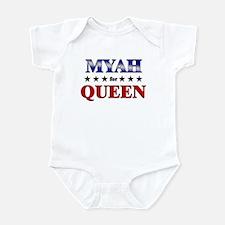 MYAH for queen Infant Bodysuit