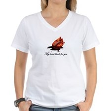Bleeding Heart V-Neck