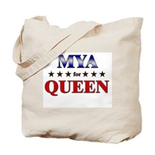 MYA for queen Tote Bag