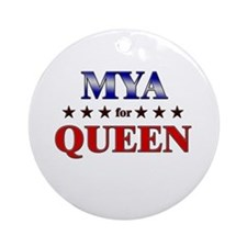 MYA for queen Ornament (Round)