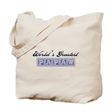 World's Greatest Papaw Tote Bag