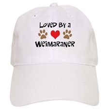 Loved By A Weim... Baseball Cap