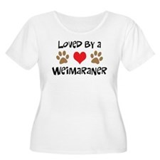 Loved By A Weim... T-Shirt