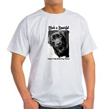 Adopt a Big Black Dog T-Shirt