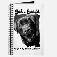 Adopt a Big Black Dog Journal
