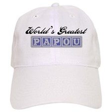 World's Greatest Papou Baseball Baseball Cap
