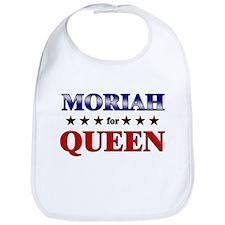 MORIAH for queen Bib