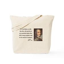 Voltaire 8 Tote Bag