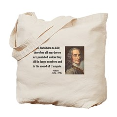 Voltaire 8 Tote Bag