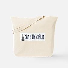Long style Cat Co-pilot Tote Bag