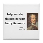 Voltaire 10 Tile Coaster