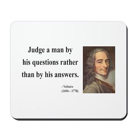 Voltaire 10 Mousepad
