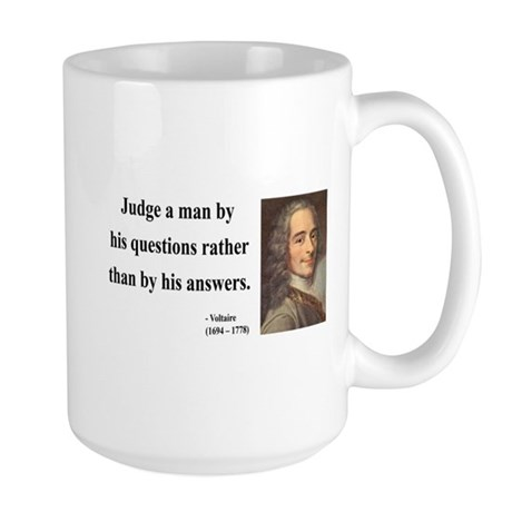 Voltaire 10 Large Mug