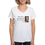 Voltaire 10 Women's V-Neck T-Shirt