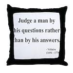 Voltaire 10 Throw Pillow