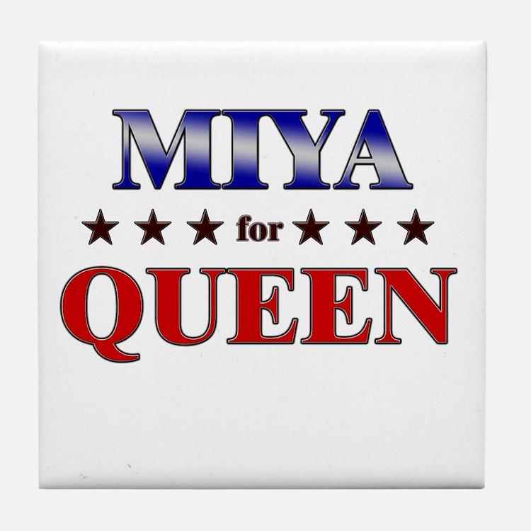 MIYA for queen Tile Coaster