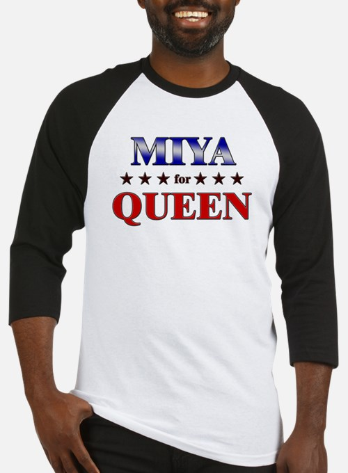 MIYA for queen Baseball Jersey