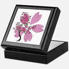 Cherry Blossom Tree Keepsake Box