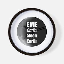 Earth Moon Earth, EME Wall Clock