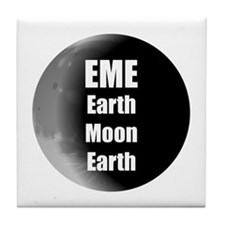 Earth Moon Earth, EME Tile Coaster