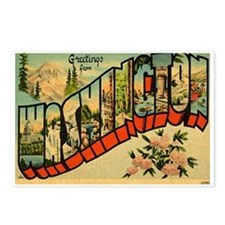 Greetings from Washington Postcards (Package of 8)