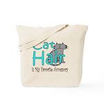 Cat Hair is My Favorite Acces Tote Bag