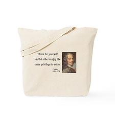 Voltaire 12 Tote Bag