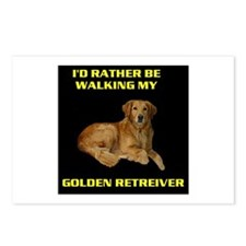 GOLDEN RETREIVER Postcards (Package of 8)
