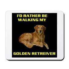 GOLDEN RETREIVER Mousepad