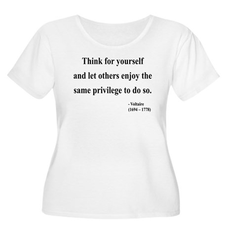 Voltaire 12 Women's Plus Size Scoop Neck T-Shirt
