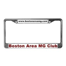 Cute Clubbing License Plate Frame