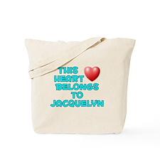 This Heart: Jacquelyn (E) Tote Bag