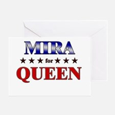 MIRA for queen Greeting Card