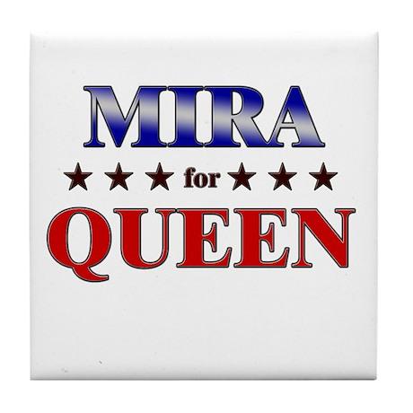 MIRA for queen Tile Coaster