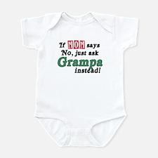 Just Ask Grampa! Infant Bodysuit