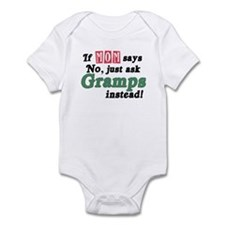 Just Ask Gramps! Funny Infant Bodysuit