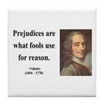 Voltaire 15 Tile Coaster