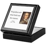 Voltaire 15 Keepsake Box