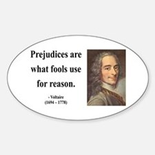 Voltaire 15 Oval Decal