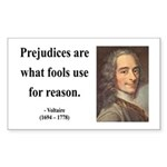 Voltaire 15 Rectangle Sticker