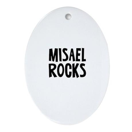 Misael Rocks Oval Ornament