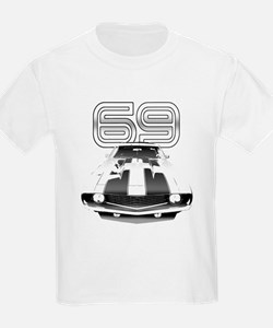 Camaro Black 1969 T-Shirt