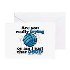 Am I that GOOD! Greeting Card