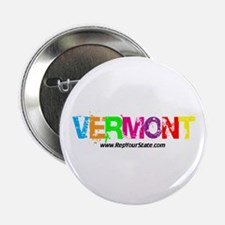 "Colorful Vermont 2.25"" Button"