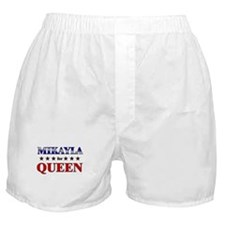 MIKAYLA for queen Boxer Shorts